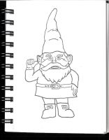 Gnome Thumb Up by SLeazy-P
