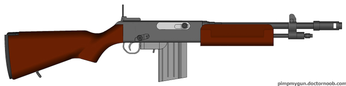 Browning Automatic Rifle (Short) by AtholTheDestroyer