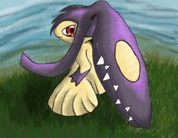 Mawile's pose by Hellsinging