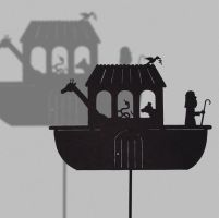 Ark of Noah - Shadow Puppet by PaperTales