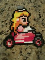 Mario Kart Princess Peach by powerranger02
