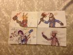 Some Pen Drawings #1 by The-Equinox-Arises