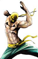 Iron Fist colors by SpaciousInterior