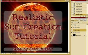 Realistic Sun Creation by exarobibliologist