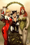 Collab: DC Bad Girls by Durandus