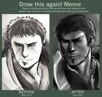 Meme - Draw Edric again by ximena07