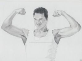 John Barrowman by The-Apiphobic-Artist