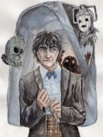 the 2nd doctor by Kazekamichan
