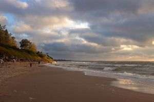 Baltic Sea. Evening by khmaria