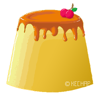 Yummy Flan by kechap
