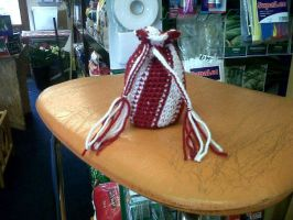 xmas candycane bag by cted5692
