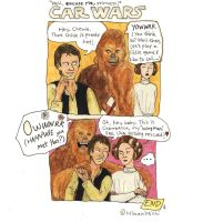 Car Wars:How I met your mother by HikariMichi