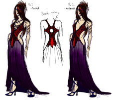 Death's Dress Design by Deathcomes4u