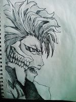 Grimmjow by Panicatthedisco7