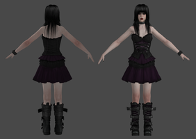 Lutmila dress remake by xxmauroxx by XXMAUROXX