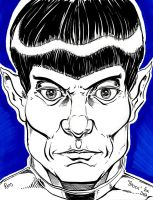 Spock by SirDNA109