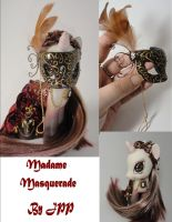 Madame Masquerade View 3 by JoshsPonyPrincess