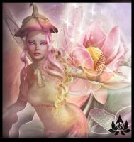 Lotus Fairy by AiijuinGraphics