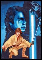 Topps Star Wars GALACTIC FILES Puzzles 3 by MJasonReed