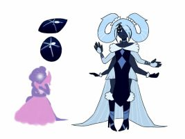 Star Sapphire fusion 2.0 by PastelPastryClown