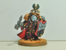 Imperial Fist Captain Lysander by JaWzY83