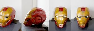 Iron Man helmet - details by SanjiroCosplay