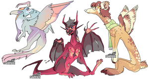 [CLOSED] 130 points dragons by Shayxy-s-adopts