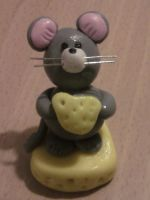Mouse fimo by bimbalove81