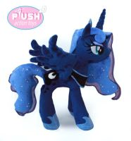 New 18 Inch Luna Plushie Pattern by PlushActionToys