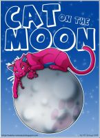 Cat on the Moon by Tenaga