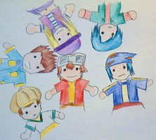 Digimon frontier by maggifan