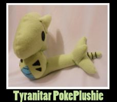 Tyranitar Chibi PokePlushie by PakajunaTufty
