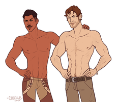 Dragon Age: Eye candy by cynellis