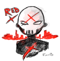 .: FA :: Red X (Teen Titans) :. by xXFinn-The-HumanXx