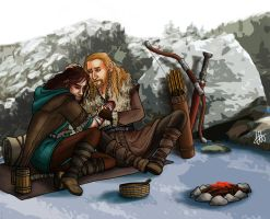 Fili and Kili - Aftermath by lilis-gallery