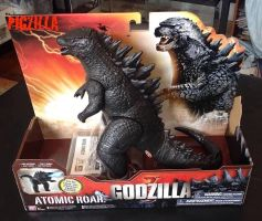 Godzilla 2014 figure by ThrillerzillaArt