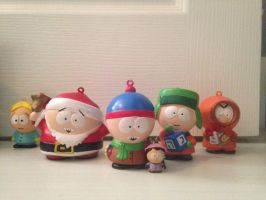 My South Park ornaments by kennyscream10237