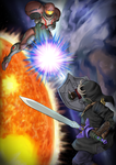 CM:: Samus vs Link by quila111