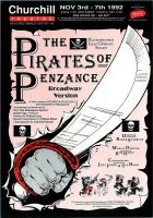 Pirates of Penzance Poster by legley
