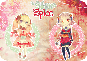 Collab Adopt 01 .:Sugar and Spice:. AUCTION OPEN by s-p-ri-ng