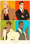 Men in suit pt2 by freestarisis