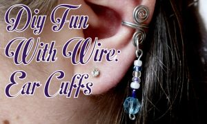 DIY Fun With Wire: Ear Cuffs (Part 1) by RubyReminiscence