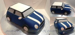 Quick Mini Cake by ginas-cakes