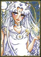 ACEO #19 Sailor Cosmos by Toto-the-cat