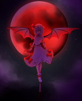 REMILIA SCARLET by LetsDrawMyMind