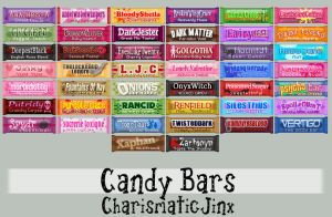 Sugar Shock: Candy Bars by CharismaticJinx