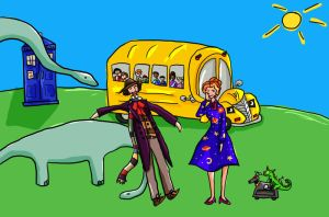 Magic Who Bus by SmudgeThistle