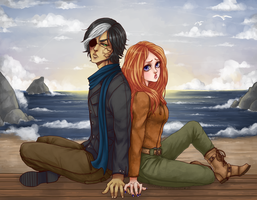 Commission - Leon and Crystal by Czhe