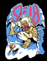 9 18 Yeti Shirt Design by rockmanzallz