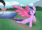 Magic of Flight by Etiluos